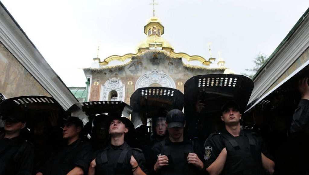 Украина Майдана продолжает гонения на православных христиан (ВИДЕО) | Русская весна
