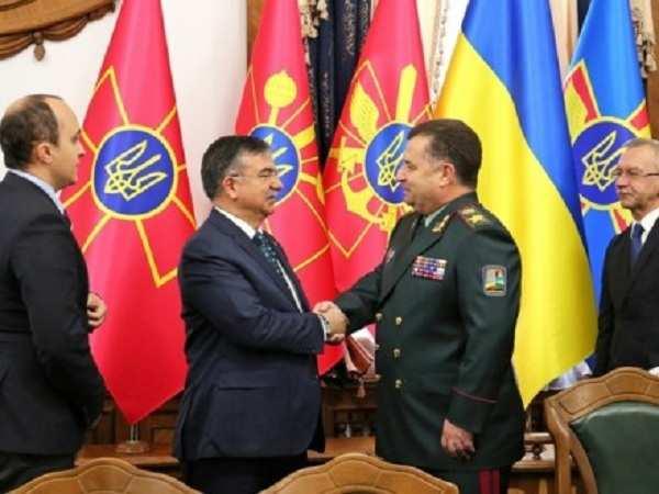 Украина иТурция подписали план военного сотрудничества | Русская весна