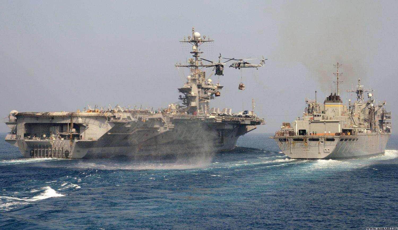 Атомный авианосец иракетные корабли ВМССШАплывут пугать Россию в Сирии (ВИДЕО) | Русская весна