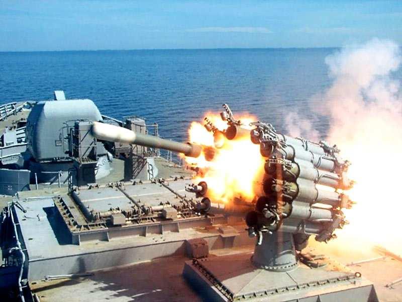 Российские корабли опробовали глубинные бомбы у берегов Сирии | Русская весна