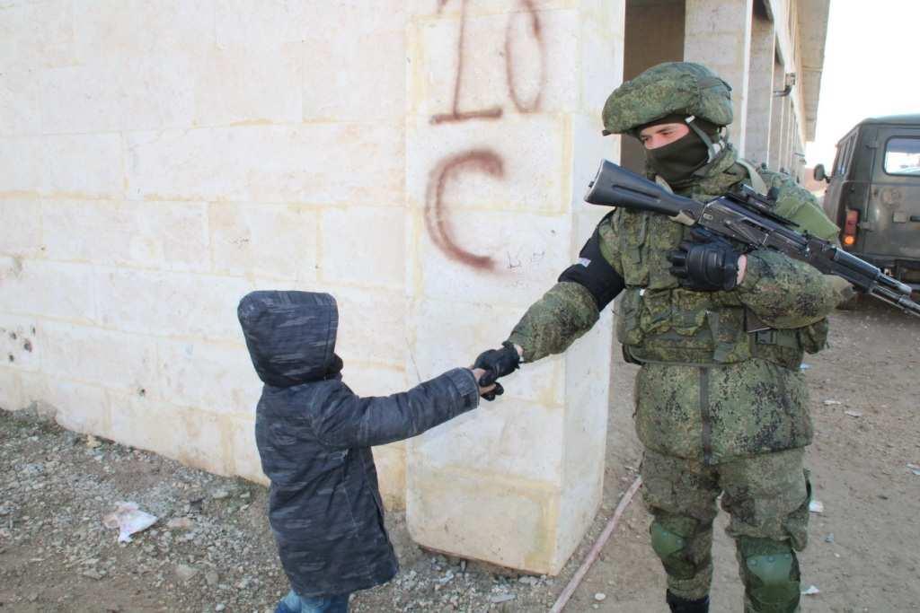 «Вежливые люди» в Алеппо: Солдаты России и дети Сирии — трогательные кадры (ФОТО) | Русская весна