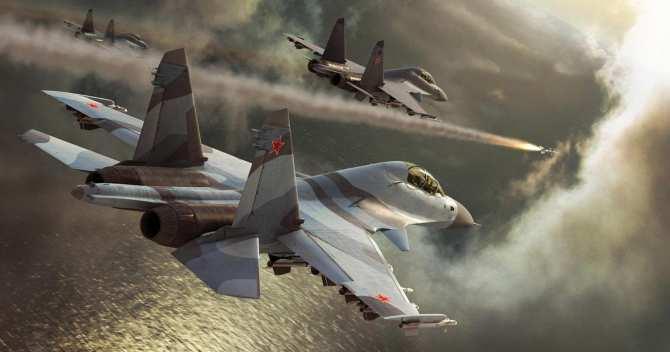 Опубликованы кадры ударов ВКСпобоевикам вСирии (ВИДЕО) | Русская весна