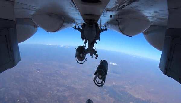 ВКС РФ в Сирии наносят удары только по террористическим группировкам, — Минобороны РФ | Русская весна