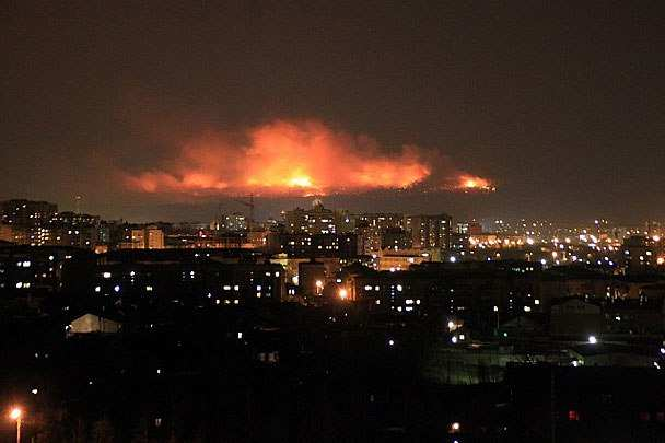 Балаклея в огне: подборка наиболее шокирующих кадров (ВИДЕО) | Русская весна