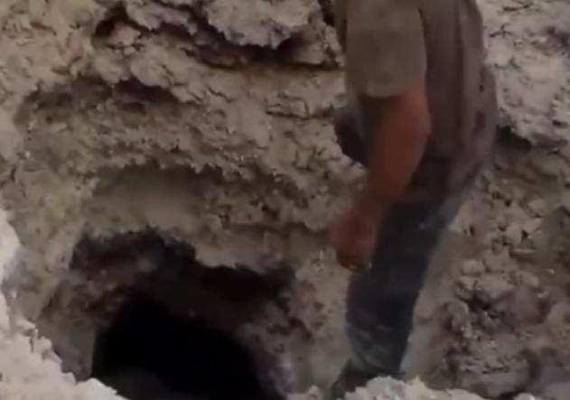 Террористы ИГИЛ показали подземный бункер, уничтоженный авиаударом (ВИДЕО) | Русская весна