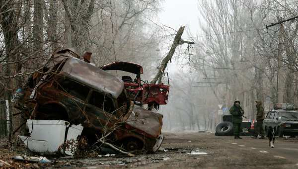 Ночью в зоне боевых действий на Донбассе воцарилась тишина, нарушаемая редкими перестрелками   Русская весна