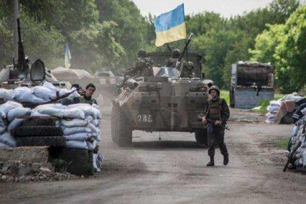 ВСУзатридня18разобстреляли территорию ЛНР,— Народная милиция   Русская весна