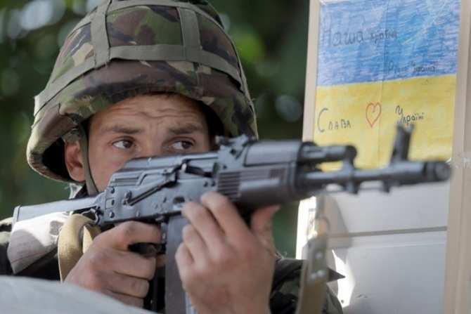 Линия фронта: позиции ВСУврайоне 31-гоблокпоста — въезд вКрымское (ВИДЕО) | Русская весна