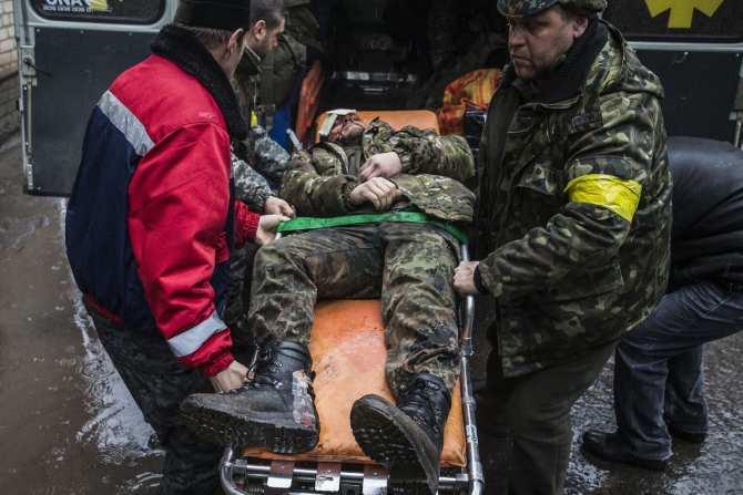 ВМарьинке пять часов подряд продолжаются бои, более 30украинских боевиков ранены | Русская весна