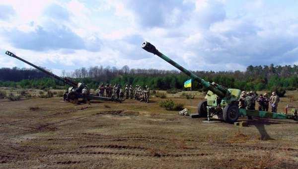 ВСУ обстреляли позиции Народной милиции ЛНР | Русская весна