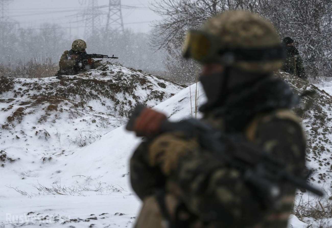 Подтвердился факт нахождения украинских военных на позициях вблизи Донецкой фильтровальной станции | Русская весна