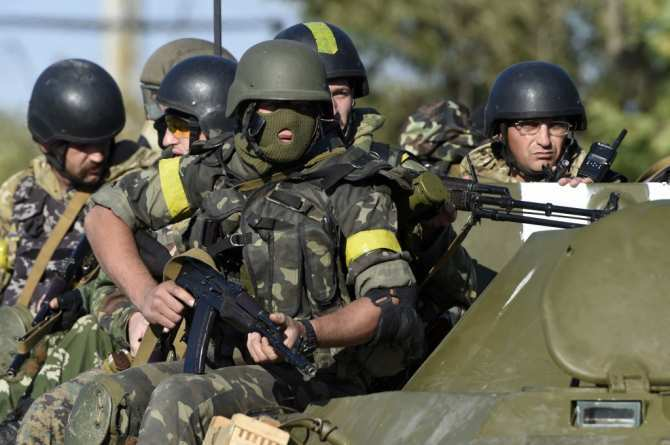 Междучастями ВСУвАвдеевке произошел вооруженный конфликт | Русская весна