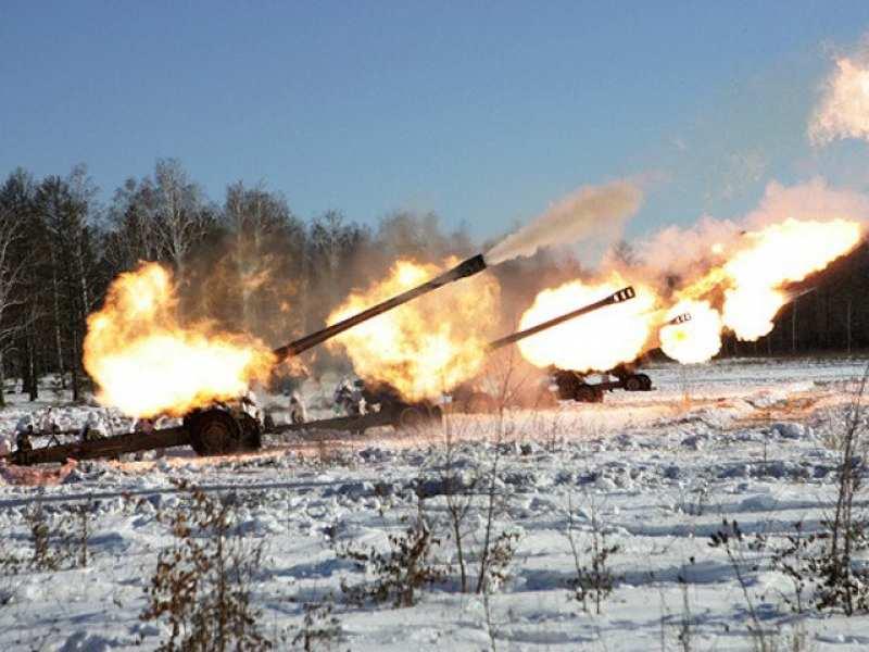 «Слушаем тяжелое» — боестолкновения в окрестностях Донецка | Русская весна