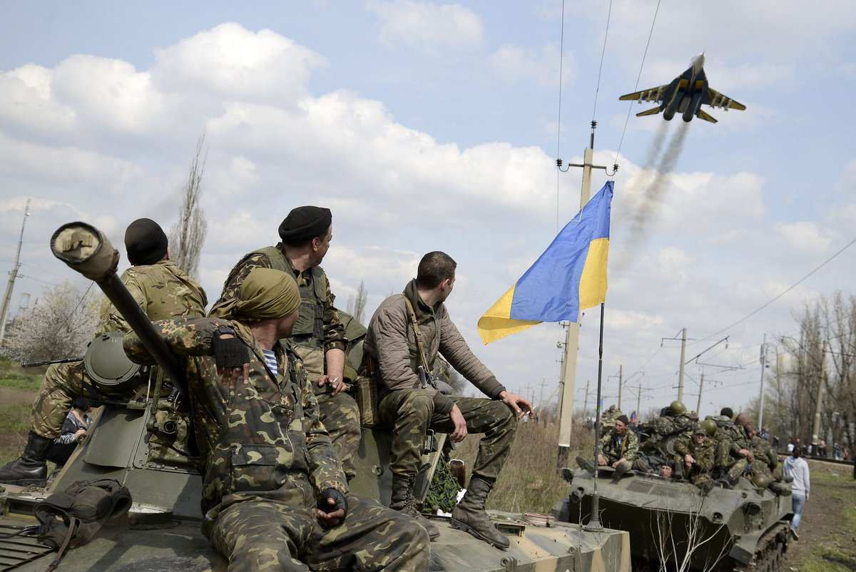 «Рабоче-крестьянская» армия Украины: равнение наИзраиль   Русская весна