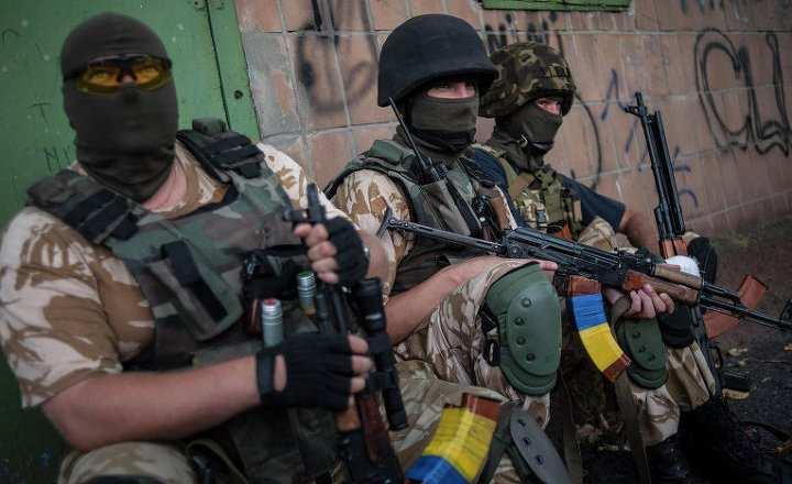 Киев перебросил к линии соприкосновения боевиков из двух нацбатальонов — Народная милиция ЛНР   Русская весна