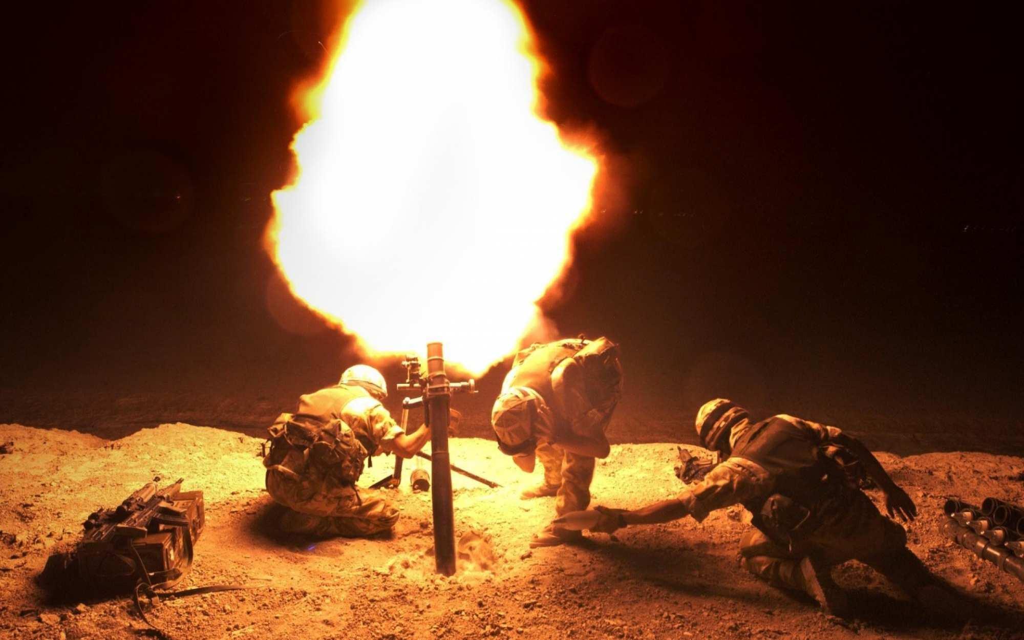 ВСУ вечером выпустили более сотни мин по окраинам Донецка и южным селам | Русская весна