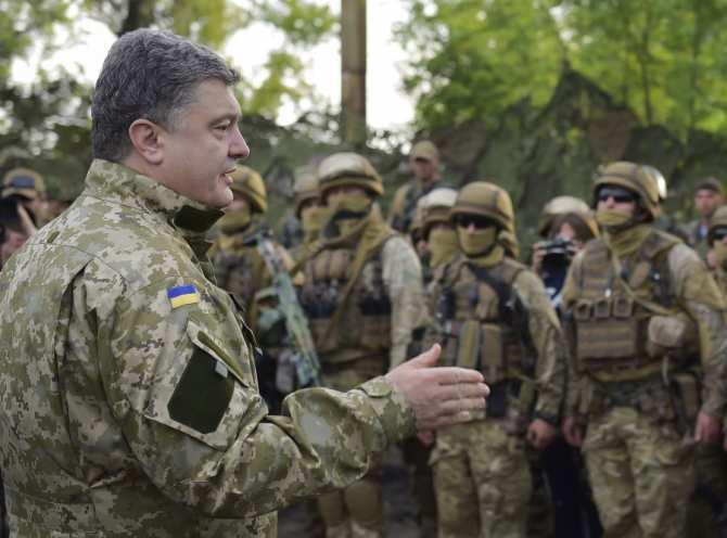 С кем Порошенко собрался партизанить? | Русская весна