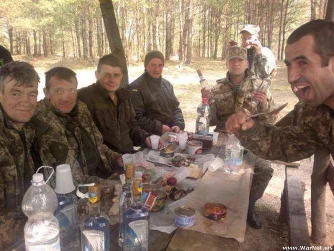 Армия алкоголиков и мародеров: украинское войско глазами очевидца | Русская весна