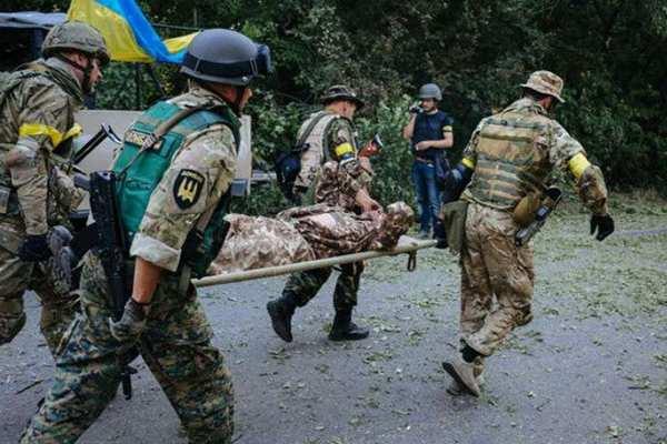 «ВСУ продолжают нести потери на Донбассе», — штаб оккупационных сил | Русская весна