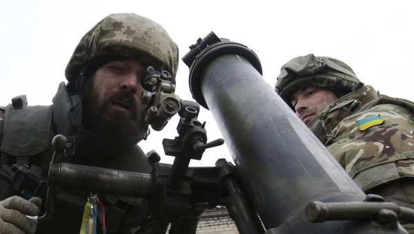 ВСУ обстреляли окрестности Докучаевска из тяжелого вооружения | Русская весна