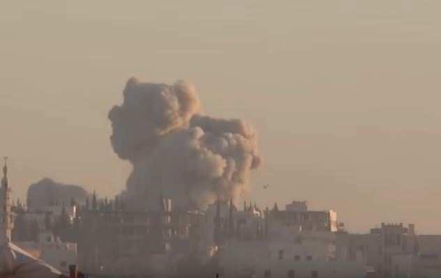 Сирия: после взрыва оттеррориста остались одни ошметки (ВИДЕО 18+)   Русская весна