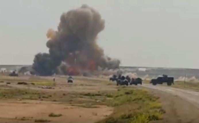 Чудовищный взрыв: «шахид-мобиль» смертника уничтожен вИраке (ВИДЕО) | Русская весна