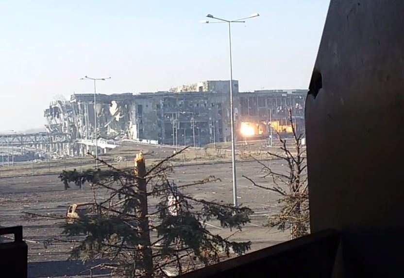 Сводка: сейчас «ад» в районе Пески — аэропорт — Опытное — Авдеевка | Русская весна