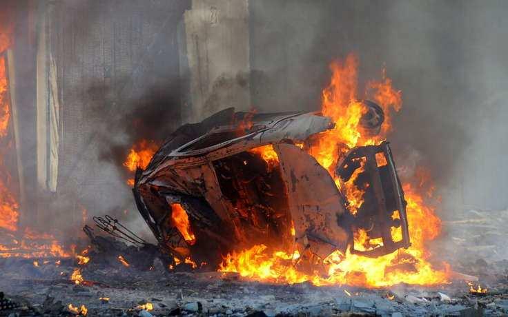 ВАЖНО: Мощный взрыв в городе, находящемся у авиабазы ВКС России в Латакии (+ВИДЕО, ФОТО, КАРТА) | Русская весна