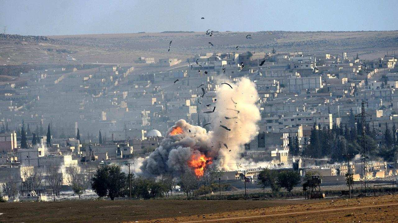 Террористы не смогли спрятаться от бомбового удара ВКС РФ в сирийской Хаме (ВИДЕО)   Русская весна