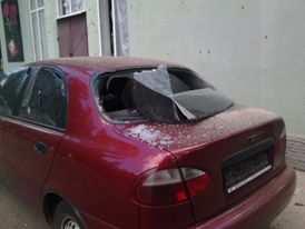 Репортаж с места взрыва возле Республиканской травматологии в Донецке (ВИДЕО) | Русская весна