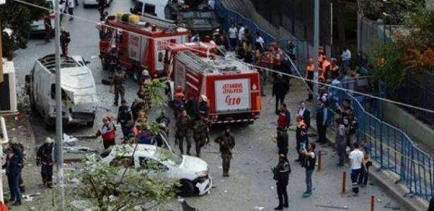 Пострадали 12 человек — подробности взрыва в турецкой Анталье | Русская весна
