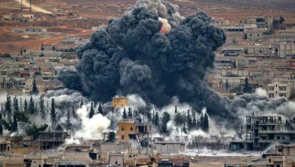 Коалиция США впервые за 10 дней нанесла несколько авиаударов в Сирии | Русская весна