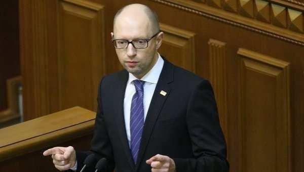 Досрочные парламентские выборы завершатся развалом Украины, — Яценюк | Русская весна