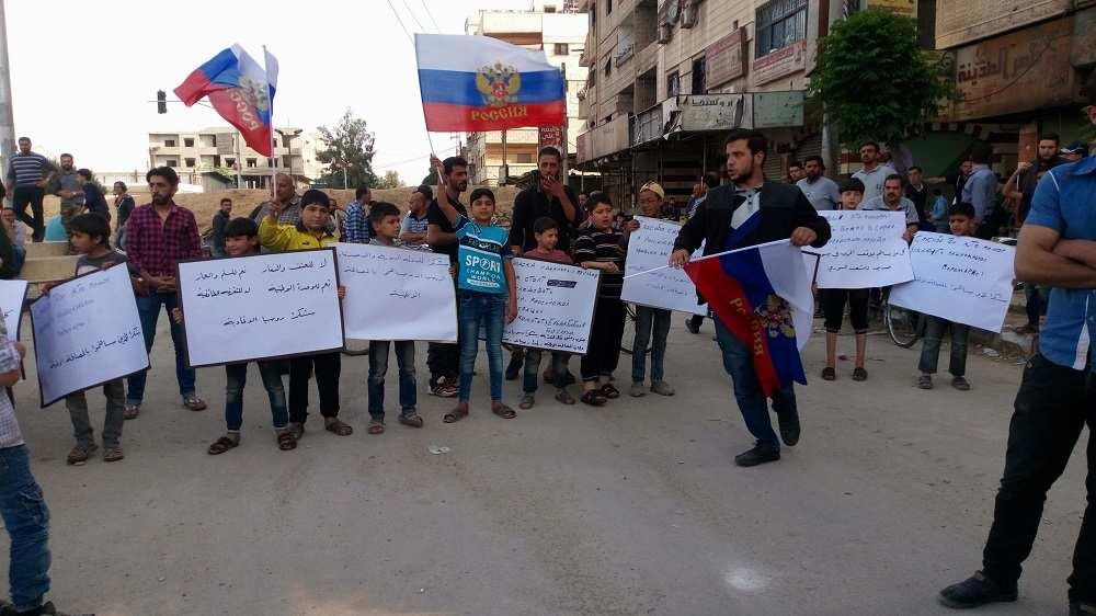 Удивительные кадры: как тысячи сирийцев вышли на улицы в честь российских военных, прогнавших боевиков (ФОТО, ВИДЕО) | Русская весна