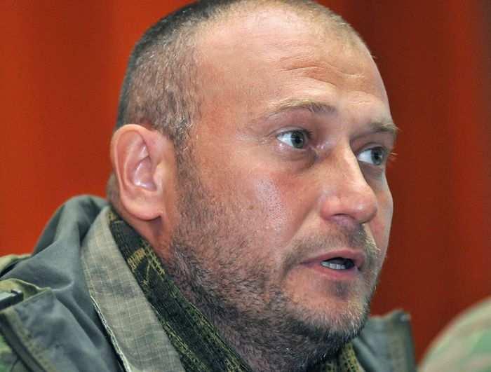Ярош потребовал легализации своих отрядов специальным законом   Русская весна