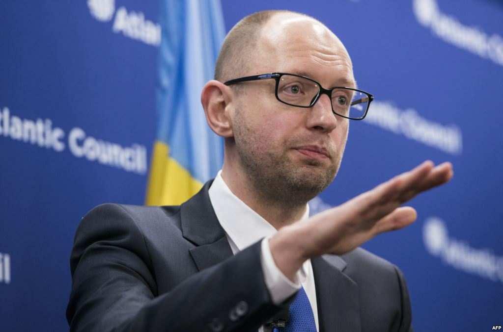 Яценюк внес в ВР законопроект о допуске миротворцев на территорию Украины   Русская весна