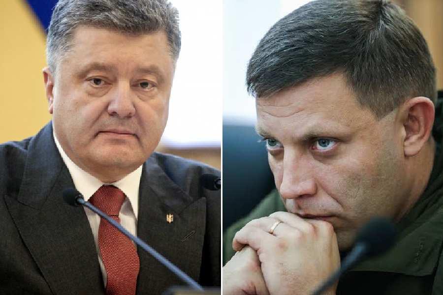 Захарченко рассказал, почему до сих пор не устранил Порошенко (ВИДЕО) | Русская весна