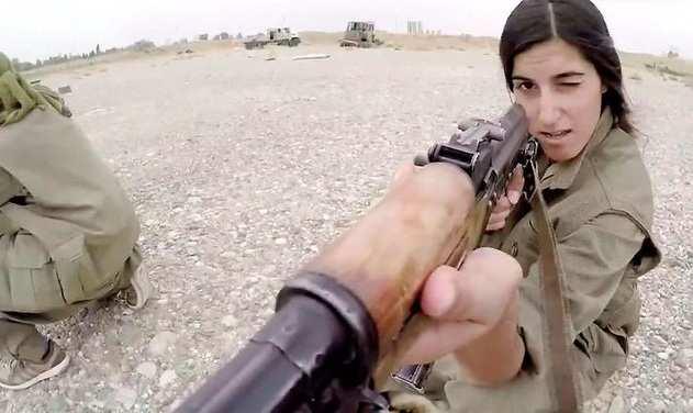 Отважные курдские девушки небоятся ИГИЛ | Русская весна