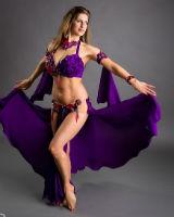 Belly Dance волнообразное перемещение