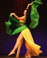 Танец живота передвижения