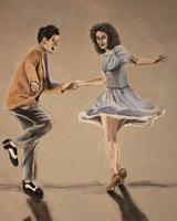 Танец свинг