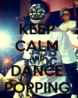 танец поппинг