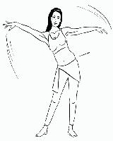 Как научиться делать волну руками и телом