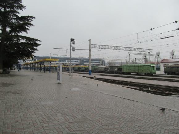ж.д. вокзал Симферополя