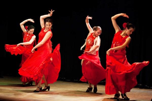 Андалусский танец Фламенко