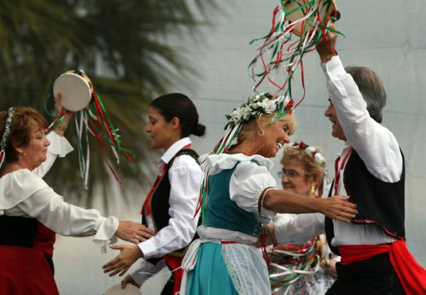 Итальянские народные танцы