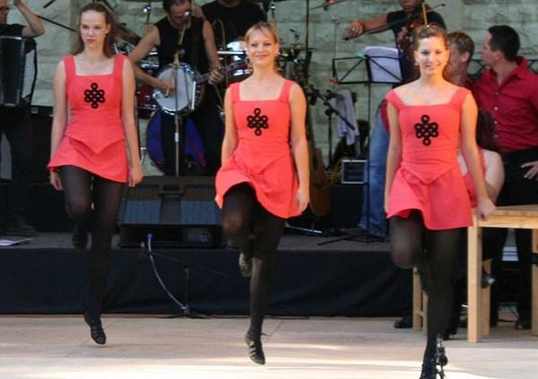 Ирландские танцы кейли