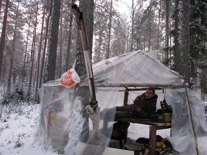 Москвич в тайге