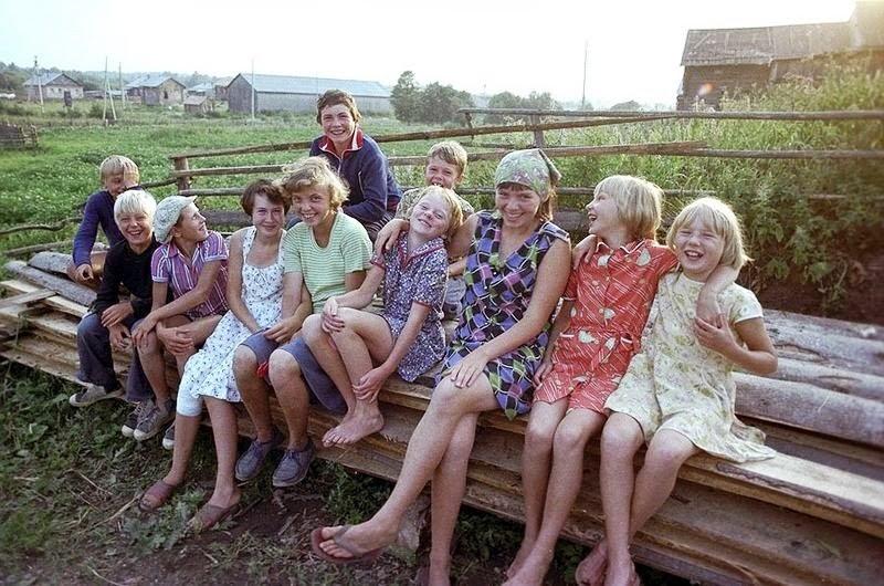 Младенчество, детство, отрочество, юность в русской деревне