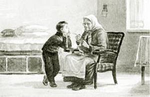 """Бабка"".  Валентина Осеева. Рассказ"